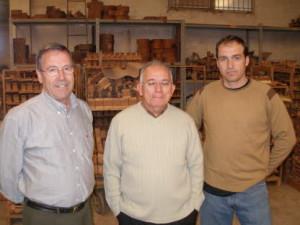 Prudencio Saez Father, Prudencio Saez Jr & Vicente Aznar