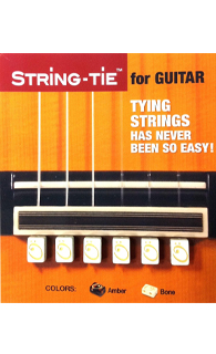 String Tie -  Bone Color