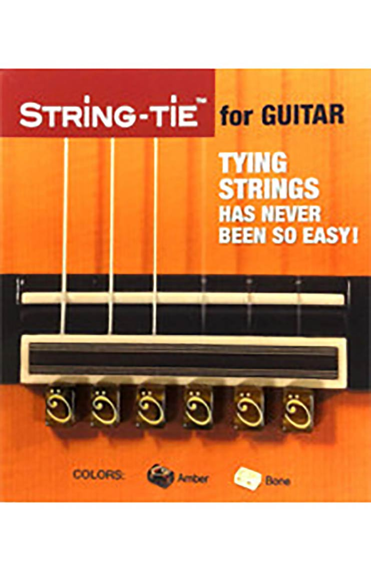 String Tie -  Amber Color