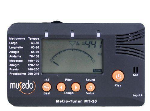 Musedo Metro-Tuner,MT- 30 Black