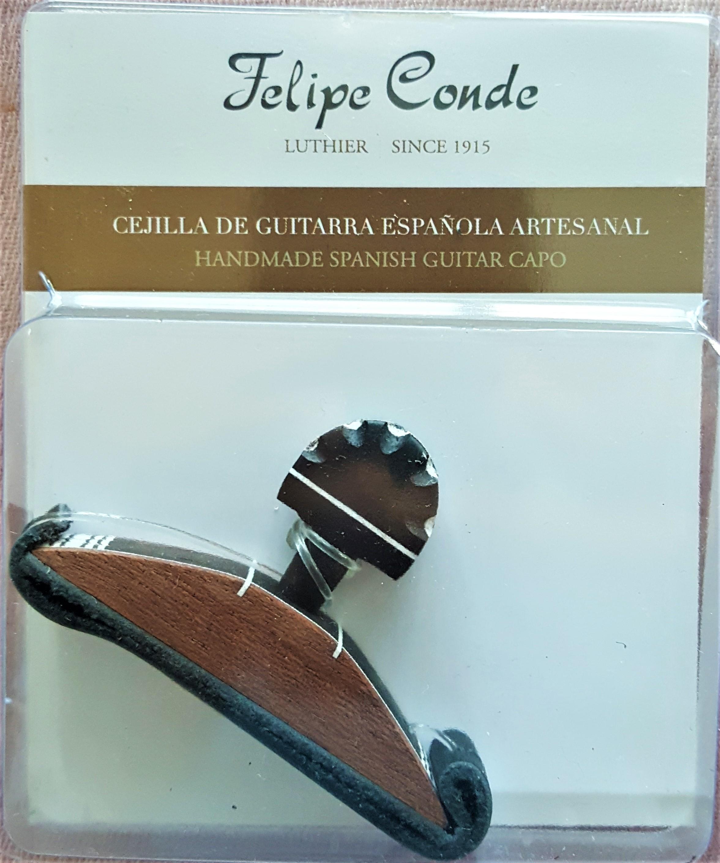 Felipe Conde Cejilla Bk/wve