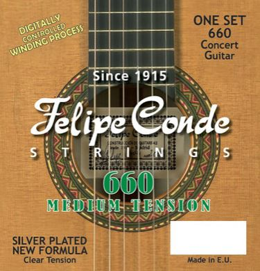 Conde Concert Medium Tension Strings