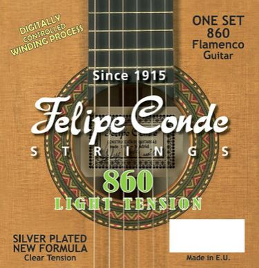 Conde Flamenco Light Tension Strings