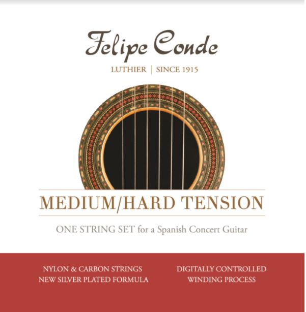 Felipe Conde Medium /Hard Tension- Carbon