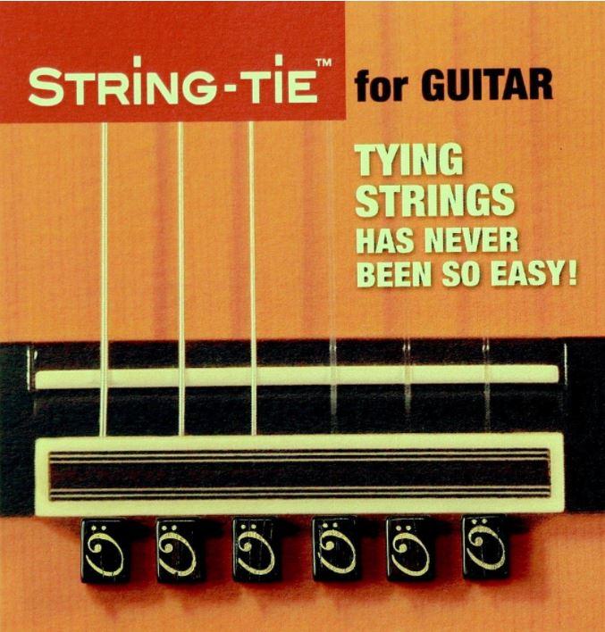 String Tie Ebony