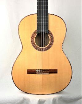Wolfgang Jellinghaus Flamenco Blanca Guitar