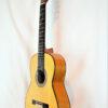 Francisco Esteve Alegria Flamenco Blanca Guitar - Side View