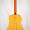 Francisco Esteve Alegria Flamenco Blanca Guitar - Back View