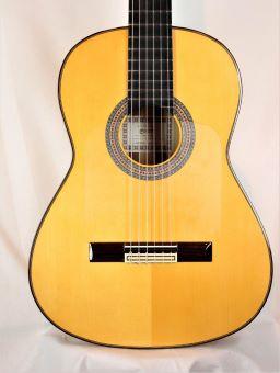 Francisco Esteve Alegria Flamenco Blanca Guitar